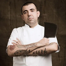 Chef Jefferson Rueda